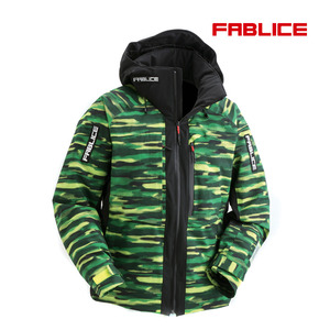 [17/18파블리스]Freeride Jacket_Green Black