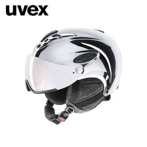 [UVEX우벡스]uvex hlmt 300 visor chrome LTD/silver
