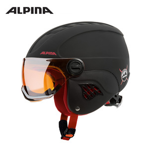 [알피나/ALPINA]17/18_CARAT L.E.VISOR HM_black-red matt